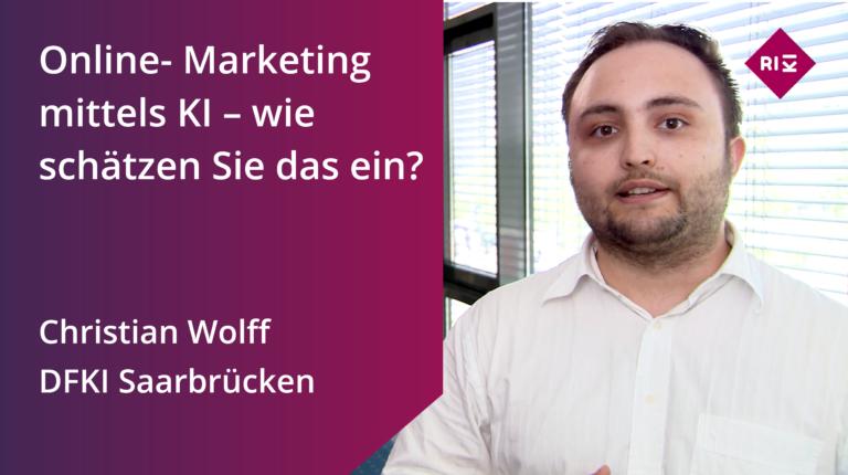 Online-Marketing mittels KI – wie schätzen Sie das ein?